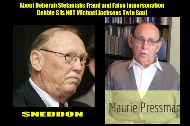 Debbie Stefaniak/Maurie Pressman Criminal Fraud on Michael Jackson Legacy and Privacy - Last Demand to remove Imitations of other Person´s Data & Copyrights -