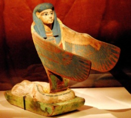 Werethekau as a winged Cobra Goddess