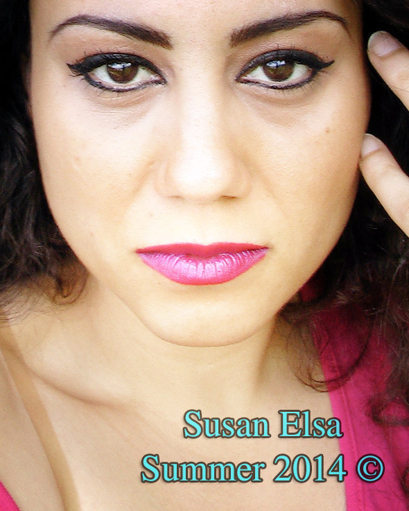 Susan Elsa Summer 2014- Face Close Up Front View © Michael Jackson TwinFlame Soul Official