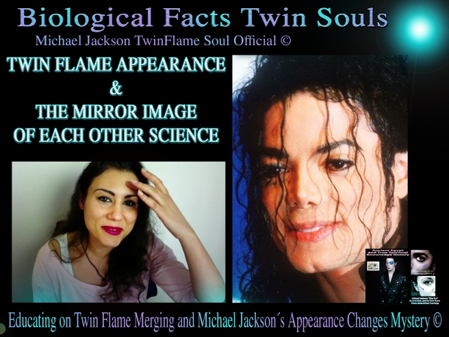 The Twin Flame Appearance: A True Mirror Image of Each Other © Michael Jackson TwinFlame Soul Official