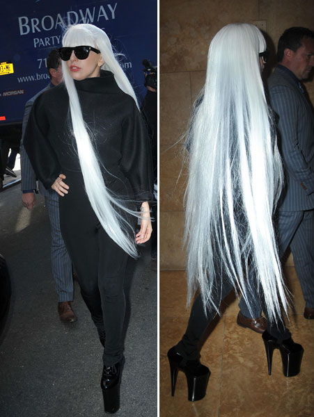 Gaga copies everyone she sees