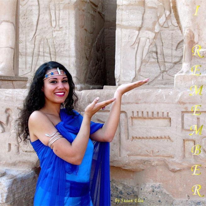 "Susan Elsa Original Ancient Egyptian Modern Twin Soul Pop ""I REMEMBER"" Dec 2010 © Michael Jackson TwinFlame Soul Official"