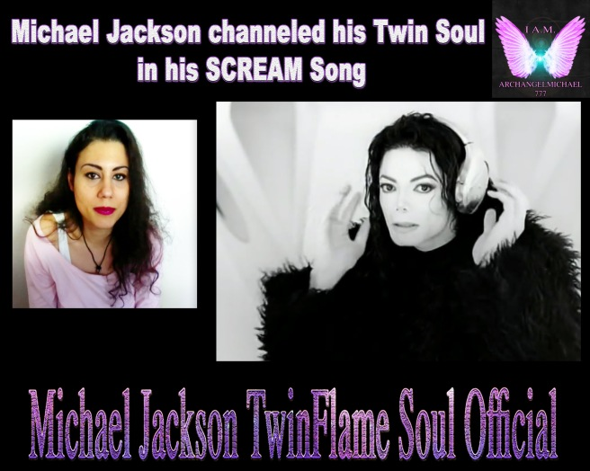 Michael Jackson channeled Twin Soul for SCREAM SONG © Michael Jackson TwinFlame Soul Official