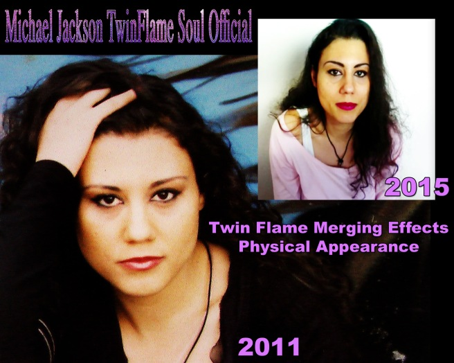 Michael Jackson Twin Flame Merging Effects Physical Appearance 2011 compared 2015 Susan Elsa © Michael Jackson TwinFlame Soul Official