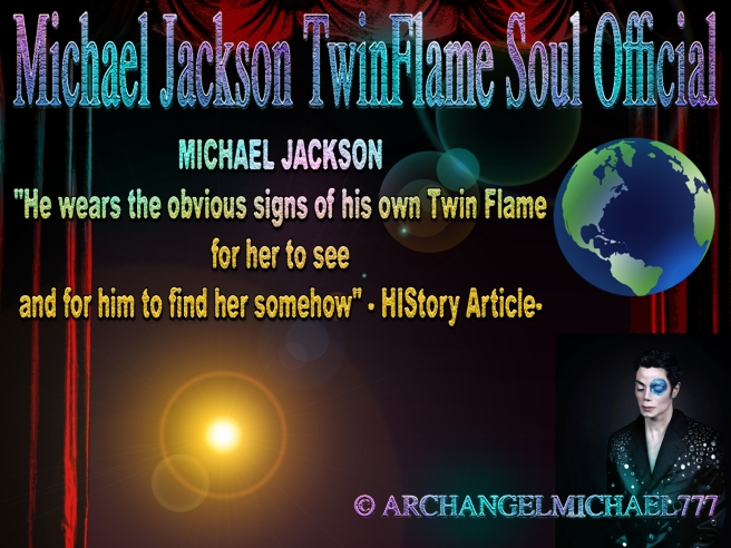 Michael Jackson Twin Flame Signal Language by Dressing in her Appearance (Twin Flames Merging Public Truth Shown) © TwinFlame Soul Official Blog-