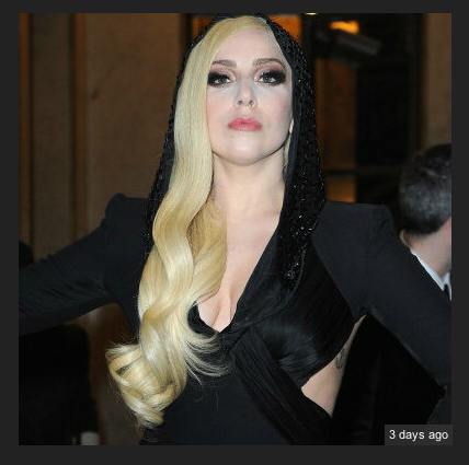 """Lady Gaga impersonating other Artists and Film Directors Persona and Clothing for Fraud """"Directing of G.U.Y."""" Video 2014"""