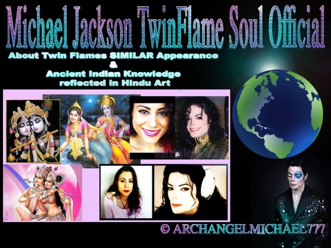 Michael Jackson: About Twin Flames SIMILAR Appearance and Ancient Indian Knowledge reflected in Hindu Art (God & Goddess Paintings) © Michael Jackson TwinFlame Soul Official