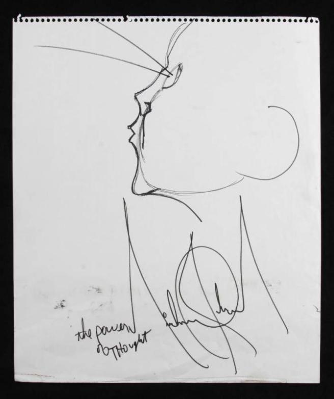 Michael Jackson Hand Sketch: The Power of Thought (Mind Magic) - Michael Jackson TwinFlame Soul Official on ARCHANGELMICHAEL777-
