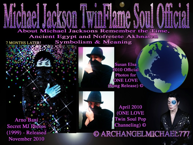 Michael Jackson REMEMBERS THE TIME in Ancient Egypt: Twin Soul Message Akhnaten and Nefertiti © Michael Jackson TwinFlame Soul Official