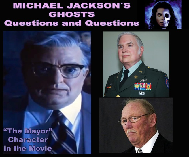 Michael Jacksons GHOSTS- Questions on the Mayor Character in Spiritual Depth (Photo for Educational and Spiritual Documentary Purpose Only)