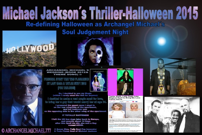 Michael Jacksons THRILLER-HALLOWEEN 2015- Redefining Halloween as Archangel Michaels Soul Judgement Night *INTRODUCTION* © Michael Jackson TwinFlame Soul Official