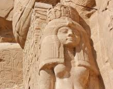 Nefertari - Ancient Egyptian Bust Abu Simbel for Educational Purpose - Michael Jackson TwinFlame Soul Official