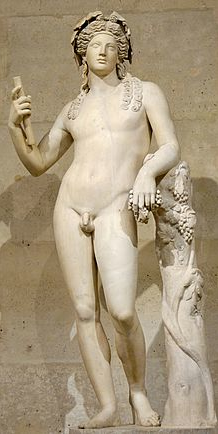 2nd-century Roman statue of Dionysus, after a Hellenistic model (ex-coll. Cardinal Richelieu, Louvre)[1]