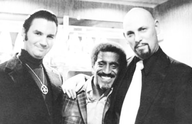 Michael Aquino, Sammy Davis Jr. and Anton Szandor LaVey (Photo for Educational Purpose Online)