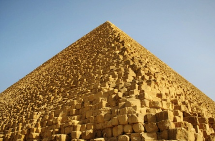 Egyptian Pyramid Up Close Construction Details