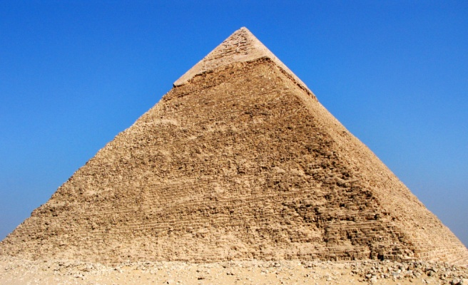 The Egyptian Pyramids and the Meaning Originally of a Pyramid Symbol in Ancient Time © ArchangelMichael777 Information