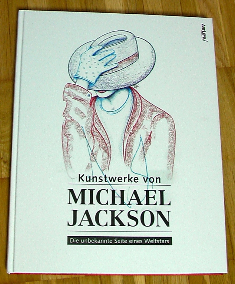 Art Works by Michael Jackson/ Kunstwerke von Michael Jackson . published by Art Lima and Brett Livingstone (2015) -PHOTO FOR EDUCATIONAL AND DOCUMENTATION PURPOSES-