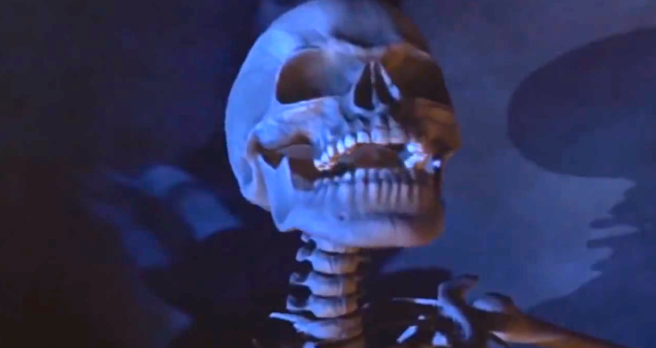 Michael Jackson´s GHOSTS- Skeleton Witchy Laugh (Video Still for educational Purpose) - ARCHANGELMICHAEL777