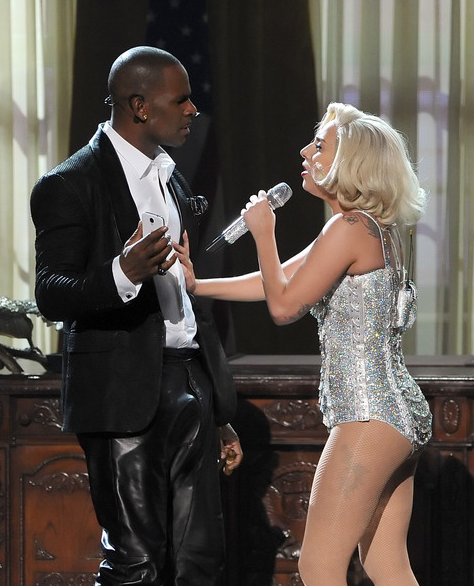 R Kelly and Gaga in Fall 2013 and Michael Jacksons Spiritual Anger and Karma Magic (Photo for educational Purpose)