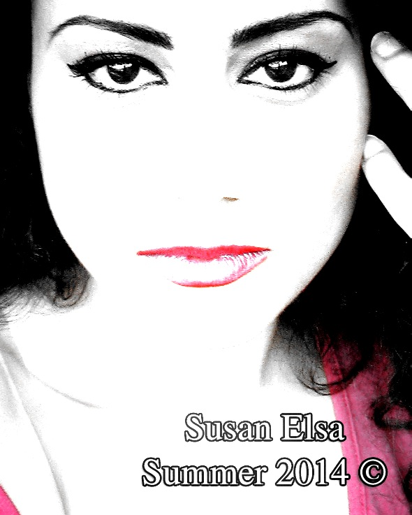 Susan Elsa Face Close Up (Comics Effect) © Michael Jackson TwinFlame Soul Official