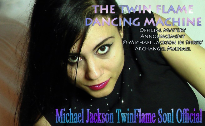 Michael Jackson in Spirit makes Official Announcement: The BLUE FLASH DANCE of the Twin Flame Dancing Machine © ArchangelMichael777
