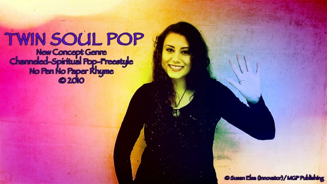 Twin Soul Pop since 2010- PR Angel Rainbow Ray Channeling Concept Spiritual © Susan Elsa