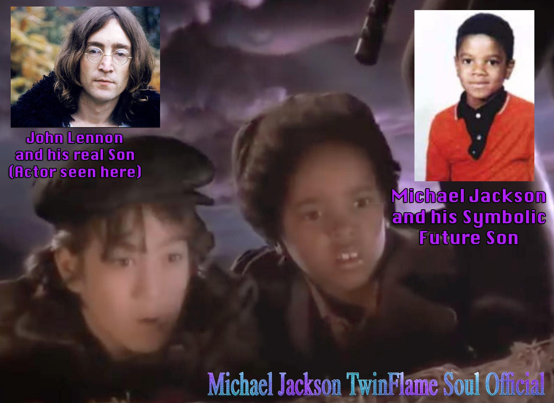 Michael Jacksons Moonwalker Movie Kids Symbolic Children Of The Stars Here Future Song