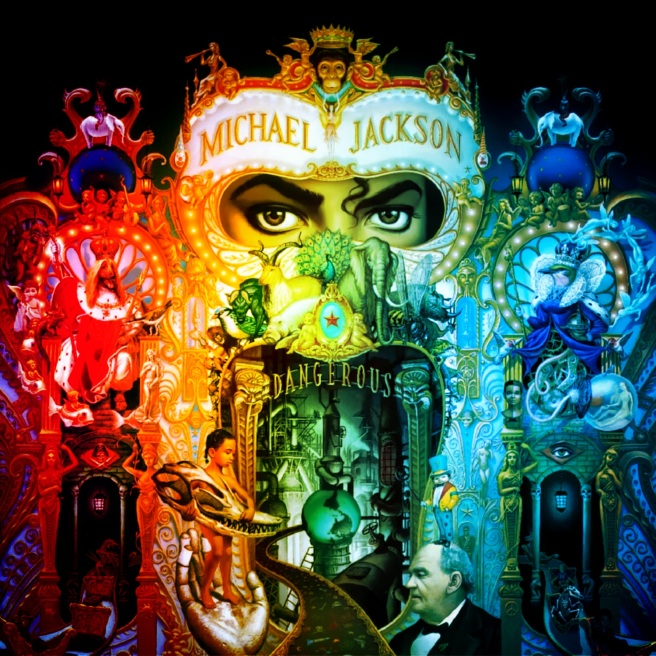 MJ Dangerous Cover -PopArt- ArchangelMichael777
