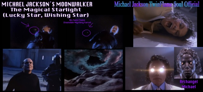 Michael Jacksons Moonwalker and the Starlight Magic Lucky Wishing Star Metamorphosis Message © TwinFlame Soul Official Archangel Michael Jackson