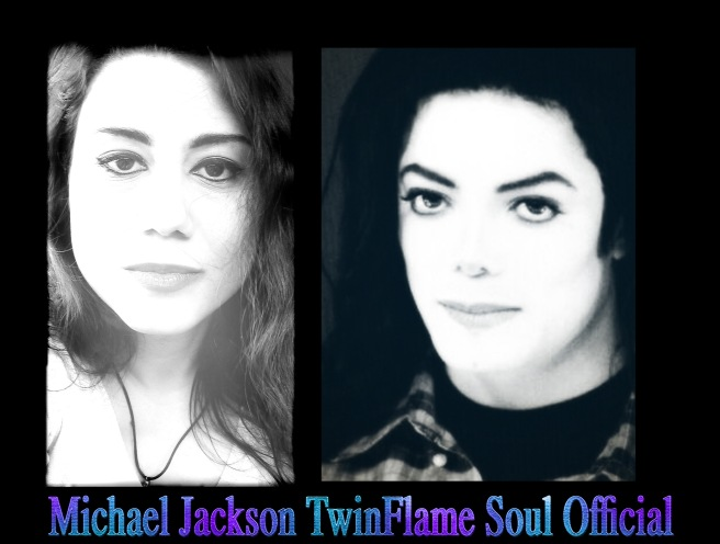 Masculine and Feminine Counterparts Twin Soul Mirror Image in Male and Female Version © Michael Jackson TwinFlame Soul Official