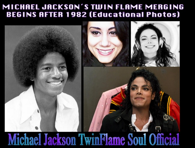 Michael Jacksons Twin Flame Merging begins after 1982 © Photos for educational Purpose Before and After 1982 - Michael Jackson Metamorphosis Story Documentary Project