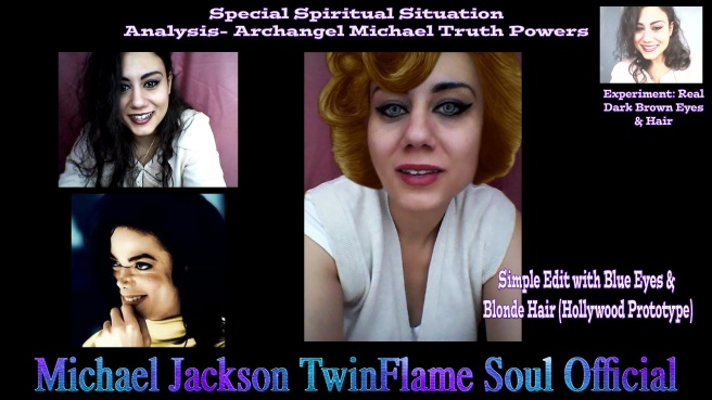 Michael Jacksons Twin Soul Essence and the Brunette Type depicted in all his Videos- The Visual Truth on Impersonation Stories - Michael Jackson TwinFlame Soul Official