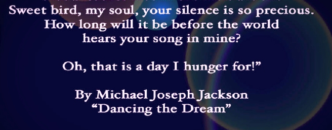 Michael Jackson 2 Birds Poem Important Lines- MJ TwinFlame Soul Official Singer Little Susie