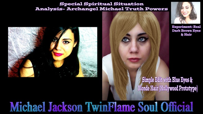 Susan Elsa real natural Brunette and Blonde Interference Spiritual Truth by Archangel Michael Powers - Michael Jackson TwinFlame Soul Official