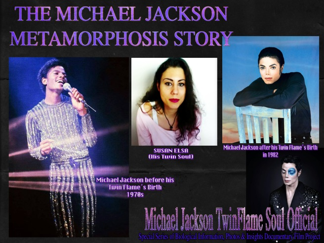 "THE MICHAEL JACKSON METAMORPHOSIS STORY: ""We Are One and the Same - Seen from Two Sides like a COIN"" *Documentary Project* © Michael Jackson TwinFlame Soul Official"