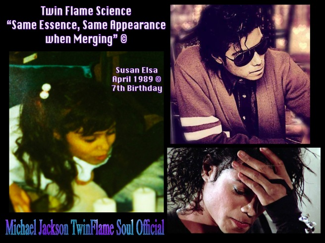 The Michael Jackson Metamorphosis Story- Twin Flames Merging and Same Soul Essence Visible in Appearance - Susan Elsa