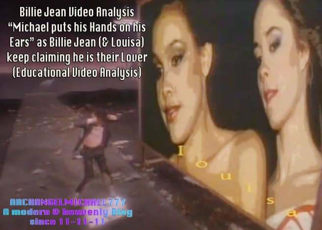 Twin Flames and the Billie Jean Effect- Visual Truth and Michael holding his Ears to not hear the False Lover Claims- Michael jackson TwinFlame Soul Official