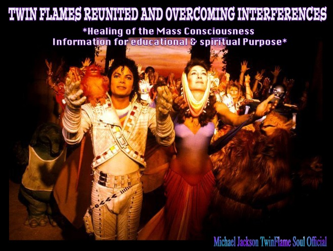 TWIN FLAMES REUNITED AND OVERCOMING INTERFERENCES- MICHAEL JACKSON ANJELICA HOUSTON CAPTAIN EO ANOTHER PART OF ME- Mass Consciousness Educational and Spiritual Purpose Information