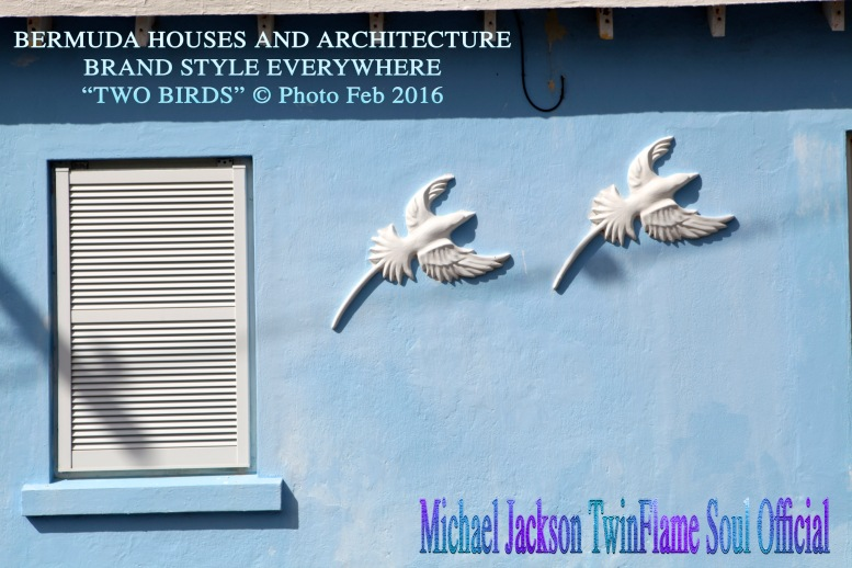 Bermuda Houses and General Architechtural Style Everywhere- TWO BIRDS © Michael Jackson TwinFlame Soul Official Susan Elsa Photos- February 2016