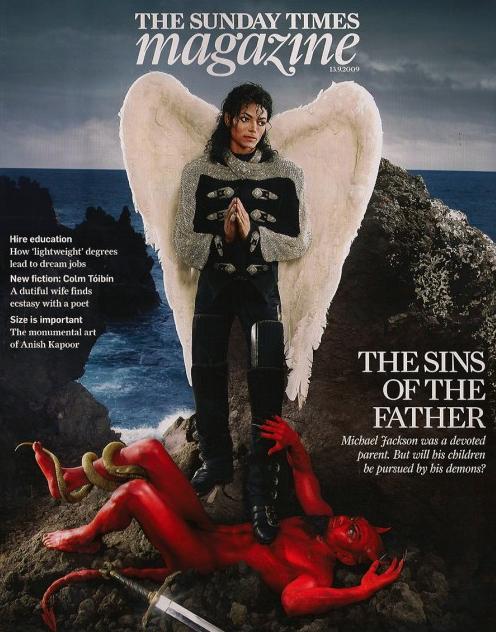 Michael Jackson 2009 Archangel Michael Soul Truth felt and imagined on Magazine Covers - Photo for educational Purpose- ArchangelMichael777 Blog