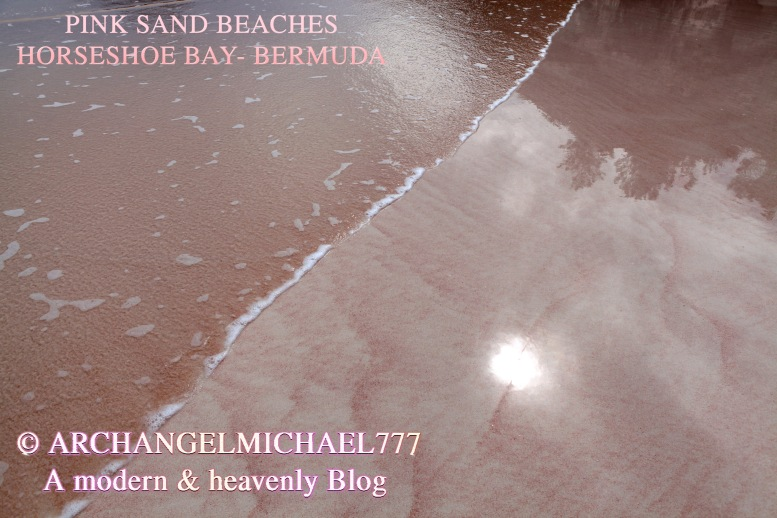 The Pink Sand Beaches at Bermuda and Planetary Healing via Twin Flame Magic- Archangel Michael Jackson and Susan Elsa Project © ArchangelMichael777