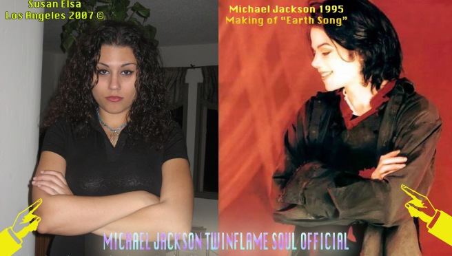 Michael Jackson and Susan Elsa- Mirror Image Twins Biological Sciences Parallels - PHOTOS FOR EDUCATIONAL AND DOCUMENTARY PURPOSE- Michael Jackson TwinFlame Soul Official