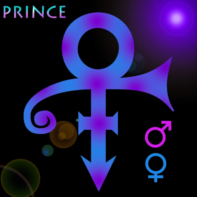 PRINCE- The famous Ancient Egyptian Style SYMBOL of Male and Female Union - PHOTO FOR EDUCATIONAL PURPOSE AND SPIRITUAL DOCUMENTARY PURPOSE- ArchangelMichael777
