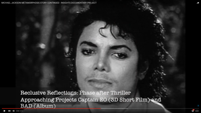 THE MICHAEL JACKSON METAMORPHOSIS STORY - CONTINUED - Insights Documentary Project (Video) © Susan Elsa Notes - Michael Jackson TwinFlame Soul Official
