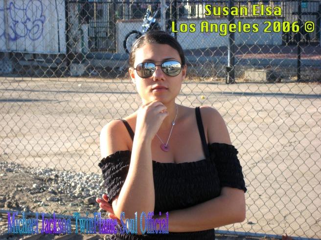 Susan Elsa Los Angeles 2006 © Michael Jackson TwinFlame Soul Official
