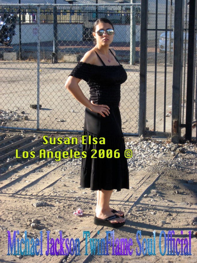 Susan Elsa Los Angeles 2006 Full Body Perspective © Michael Jackson TwinFlame Soul Official
