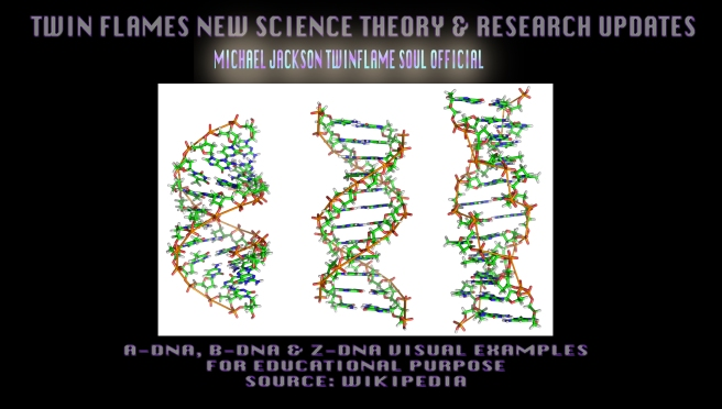 TF SCIENCE THEORY- DNA STRAND VISUAL EXAMPLES TO EDUCATE- Michael Jackson TwinFlame Soul Official
