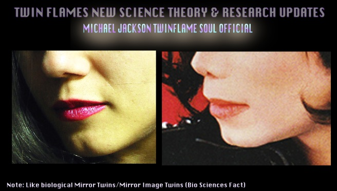 Twin Souls Merging- Science Theory Updates- Side Profile Lips and Chin Dimple © Susan Elsa- Michael Jackson TwinFlame Soul Official