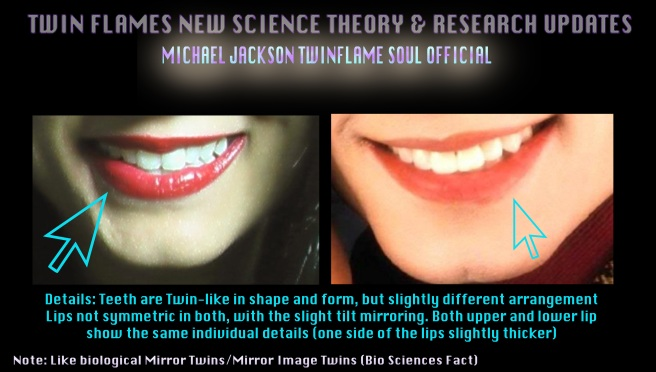 Twin Teeth Susan Elsa and Michael Jackson- New Science Theory Efforts for Twin Flames © Michael Jackson TwinFlame Soul Official