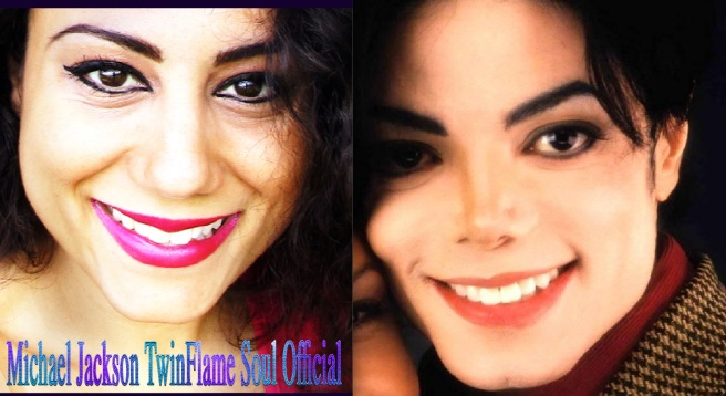 TWINFLAME SOUL TRUTH IN VISUAL FACIAL COMPARISON © Michael Jackson TwinFlame Soul Official
